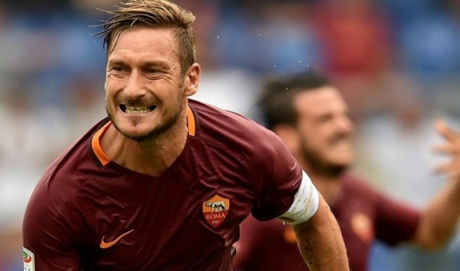 Totti i bindur  E doja Ibrahimoviçin te Roma