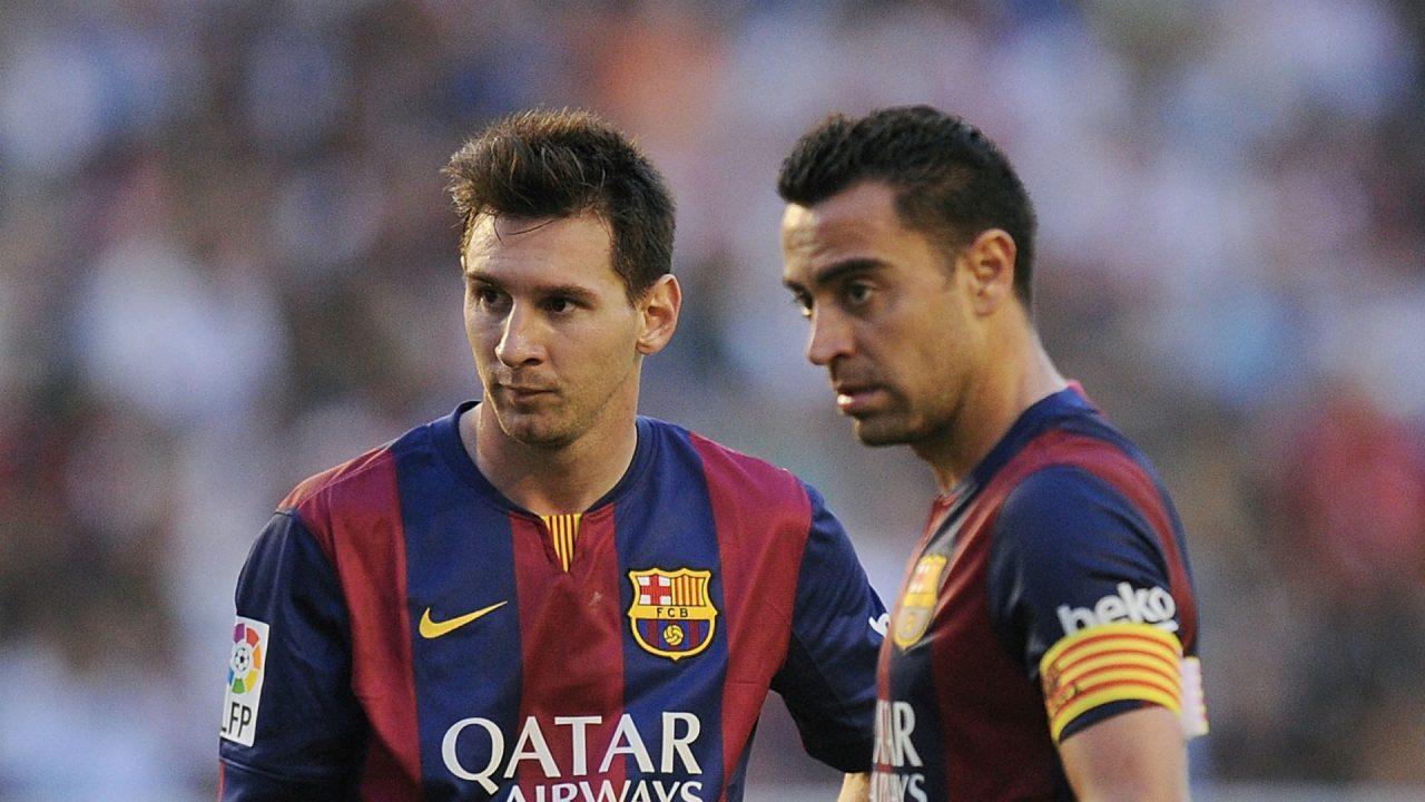 Messi  pagëzon  Xavin e ri te Barcelona