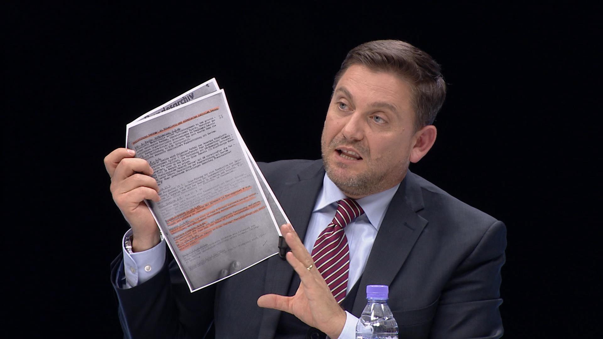 Zbulohet dokumenti  ja bisedimet e fshehta të  Ballistëve  me grekët