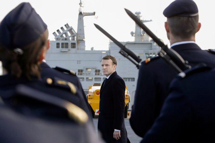 Macron i përgjigjet Trump  Mes aleatëve duhet të respektohemi