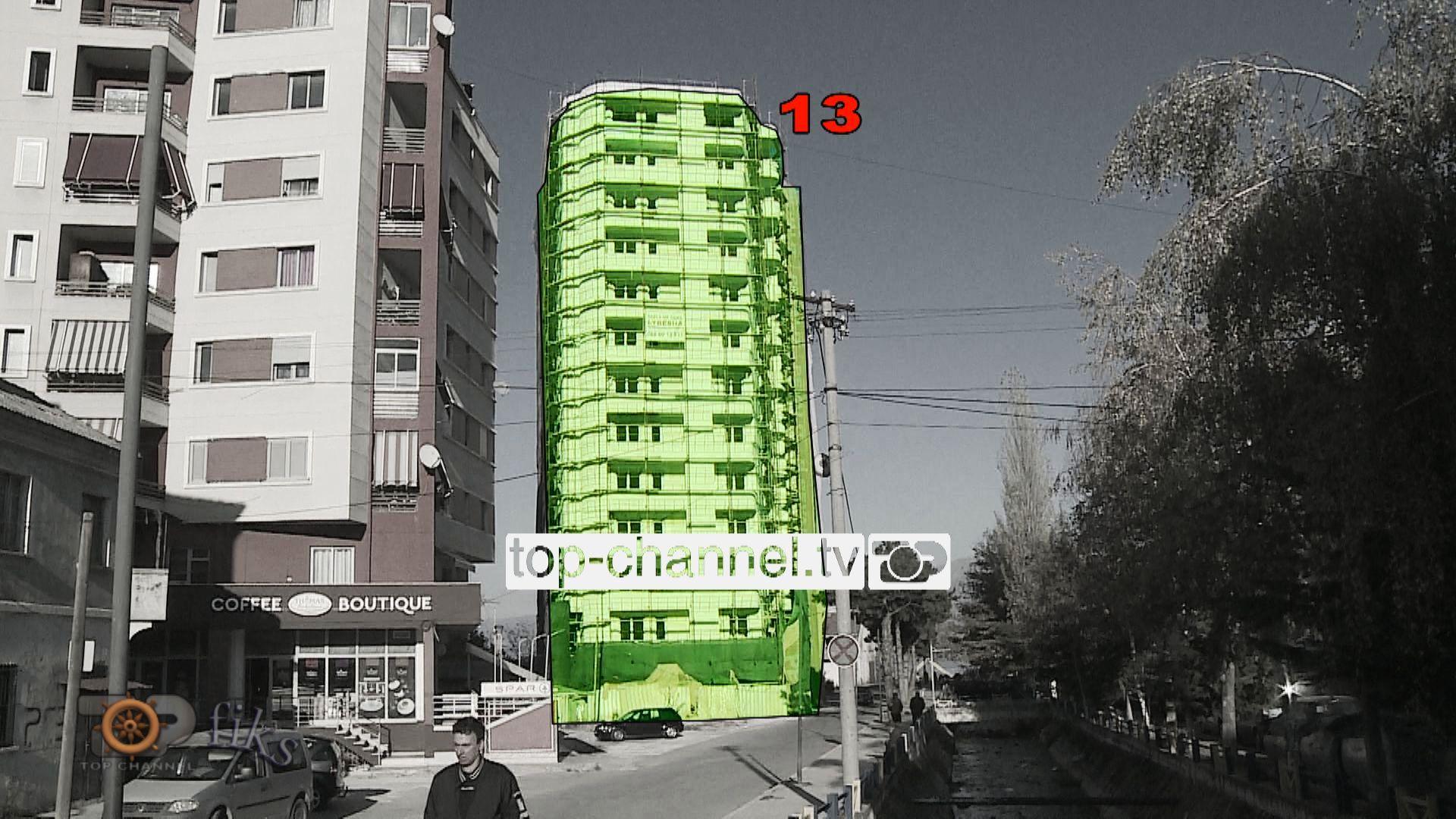 Kryebashkiaku i Pogradecit  pallat 13 katësh pa leje