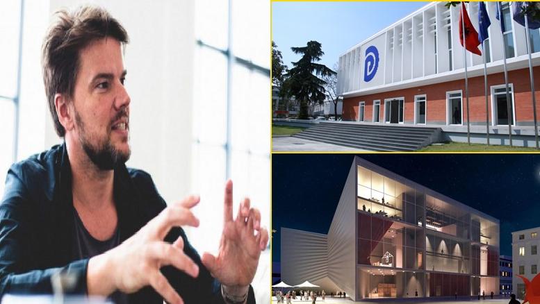 """Projekti për Teatrin Kombëtar/ Prokuroria """"rrëzon"""" PD: Arkitekti danez s'ka shkelur ligjin"""