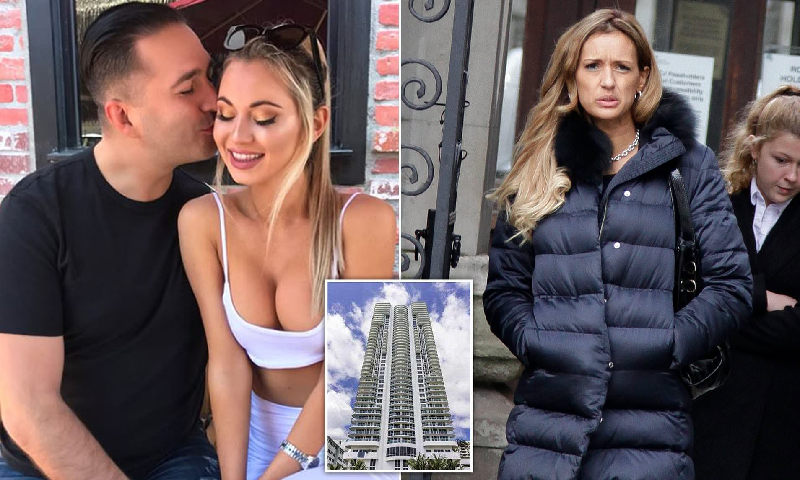 E kapi me modelen e  Playboy  në shtëpi  Gruaja i merr pasurinë milionerit pas divorcit  gjykatësi  Ia bëri vetes