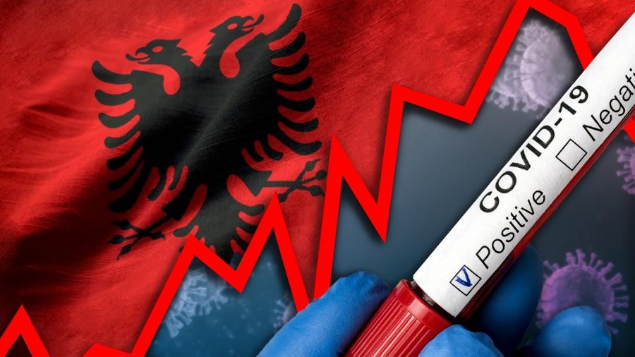 Rekord viktimash nga Covid në Shqipëri: 17 humbje jete në 24 orë dhe 795 raste të reja