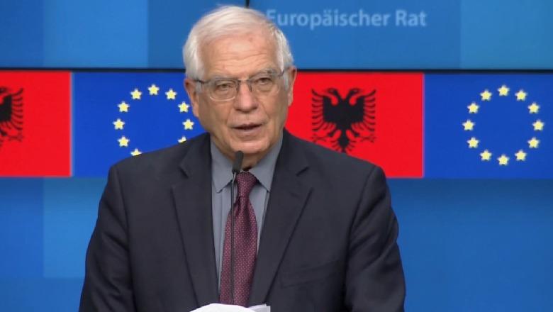 """""""Shqipëria ka bërë progres në zbatimin e reformave""""/ Borrell për zgjedhjet: Kandidatët për deputetë duhet të jenë njerëz me integritet"""