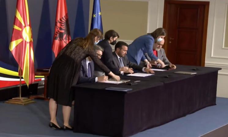 "Finalizohet ""Open Ballkan""/ Marrëveshja Rama-Vuçiç-Zaev bëhet zyrtare"