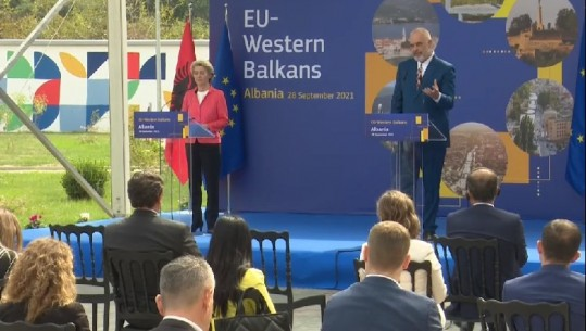 """""""Tani BE të veprojë""""/ Ursula von der Leyen: Shqipëria i ka kryer detyrat!"""